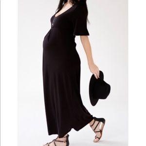 """Belabumbum """"Moon Goddess"""" Long maternity dress -sm"""